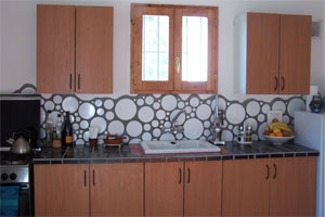 mosaic kitchen casita molino